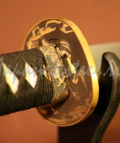 samurai collects damask steel 0 247x296 - Самурайский меч из дамасской стали (КА)