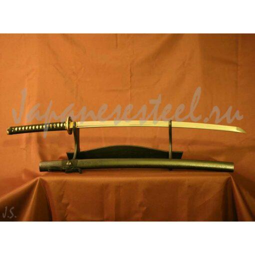 samurai collects damask steel 2 510x510 - Самурайский меч из дамасской стали (КА)