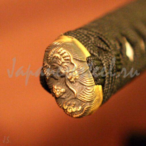 samurai collects damask steel 4 510x510 - Самурайский меч из дамасской стали (КА)