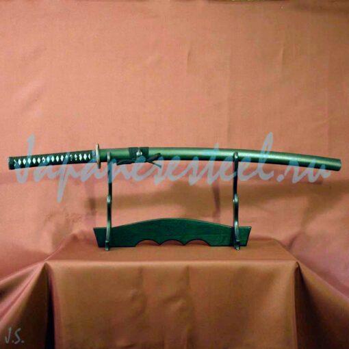 samurai trenir nezatoch instrument steel 2 510x510 - Тренировочный самурайский меч из инструментальной стали (КТМП)