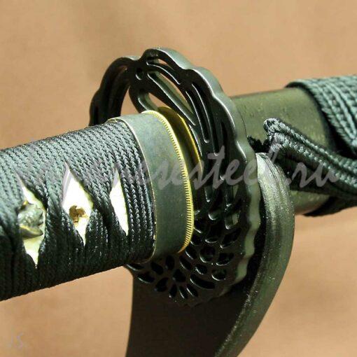 samurai trenir nezatoch itajo 0 510x510 - Иайто из нержвающей стали (КЦНЖ)