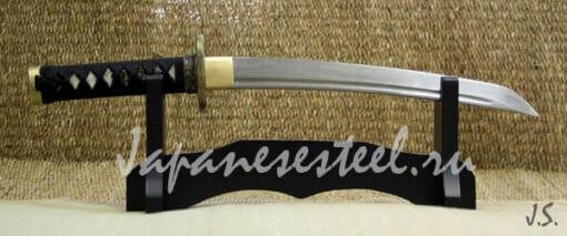 tanto damask steel 1 1 510x213 - Танто из дамасской стали (ТА)