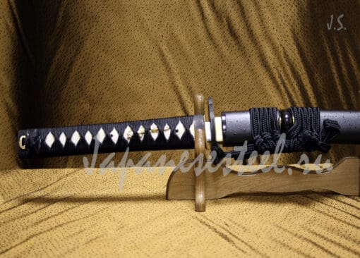 tanto tamahagane steel 1 3 510x366 - Танто из стали тамахаганэ (ТЦК)
