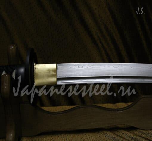 tanto tamahagane steel 1 4 510x473 - Танто из стали тамахаганэ (ТЦК)